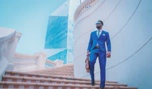 black business businessman hired