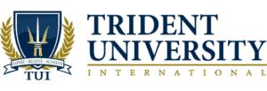 Trident University International logo from website