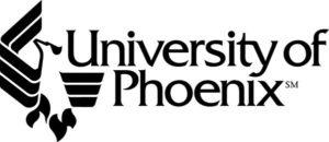 University of Phoenix logo from website
